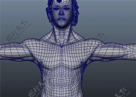 人物体型塑造游戏模型素材