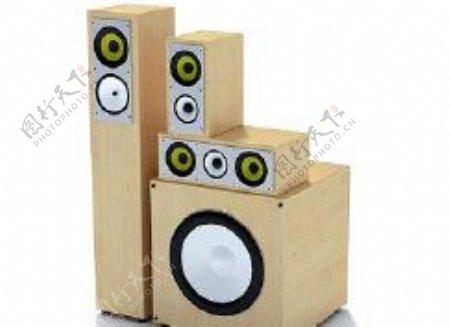 音箱3d模型电器模型图片5