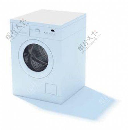 洗衣机3d模型电器模型图片14