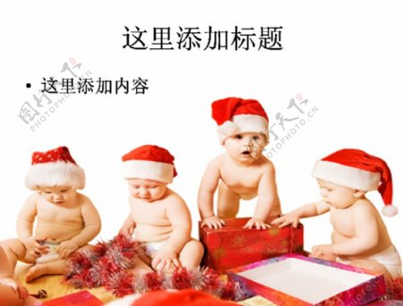 圣诞宝宝图片