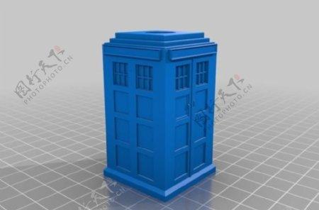 TARDIS笔筒
