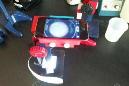 印刷显微iPodtouch适配器