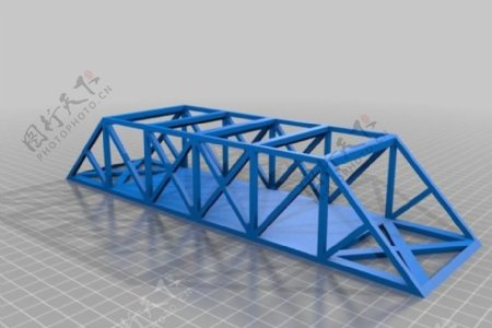 桥梁工程桥梁桁架干项目