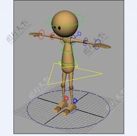 练习动画摆POSS的模型