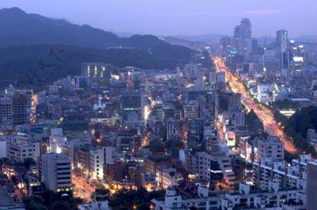 全球首席大百科城市夜景景色建筑灯光繁华都市