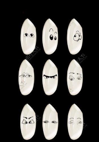 卡通米粒图片