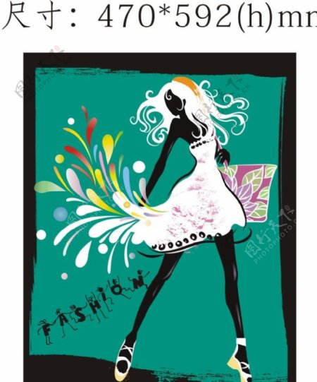fashion女孩图片