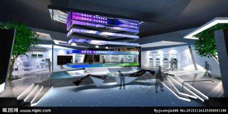 企业展示厅图片