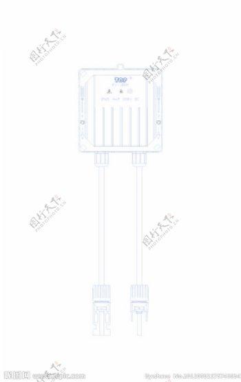 光伏组件用接线盒图片