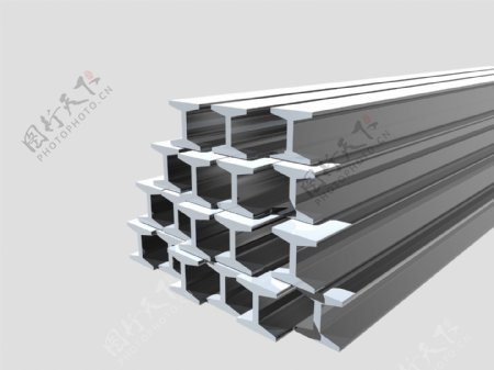 工字钢钢材图片