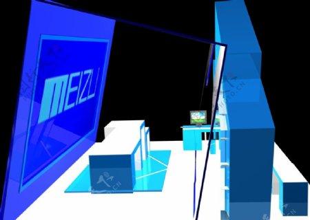 魅族展厅左侧图片
