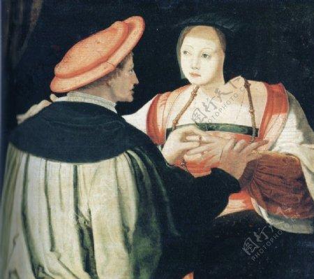 妓女与顾客图片