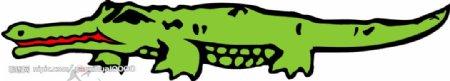 精典鳄鱼素材图片