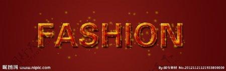 FASHION字体设计图片