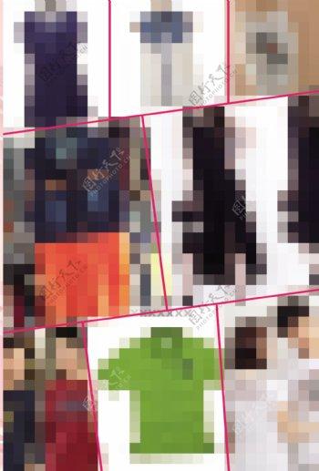 服饰宣传页图片
