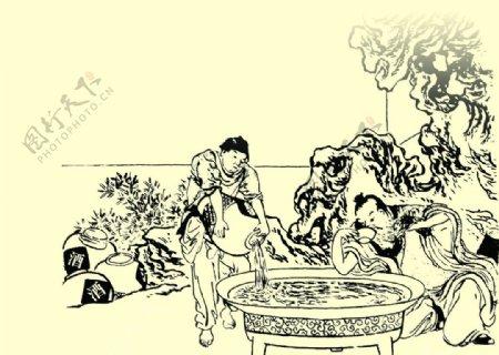 古画古代名画文化艺术绘画书法图片