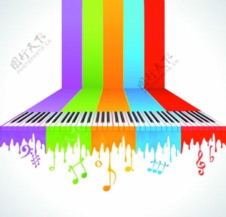 创意音乐背景图片