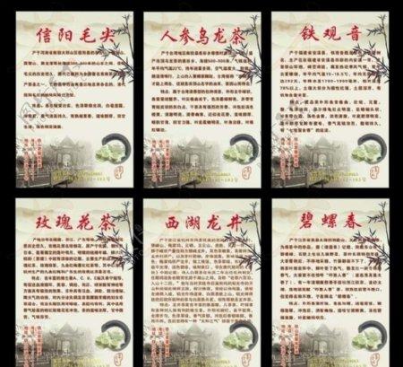 茶叶介绍海报图片