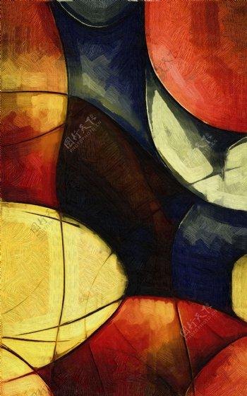 抽象画抽象背景图案