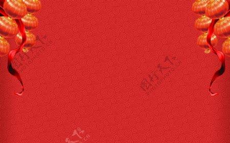 春节主题网站背景图