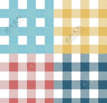 彩色方形图案