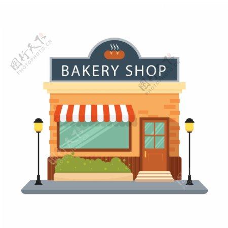 门面面包店