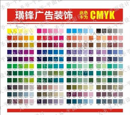 CMYK色标