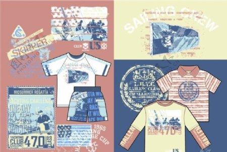 男童服装图案款式设计