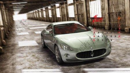 玛莎拉蒂汽车图片