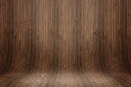木板展台展示高清图片