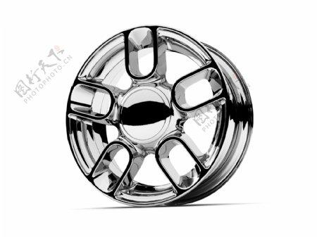 豪华轿车轮毂图片