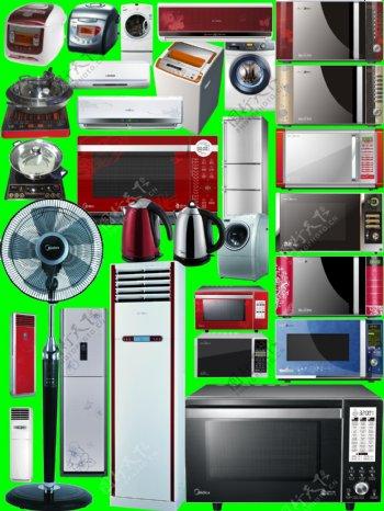 电器PSD分层素材