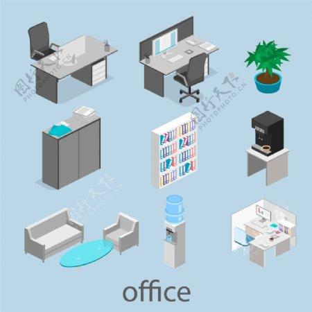 散乱的办公室设计图片