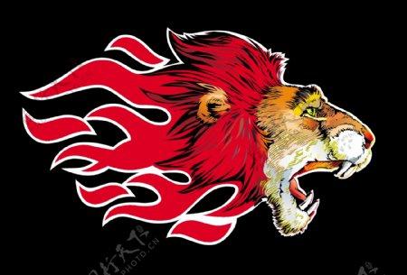狮子头火焰