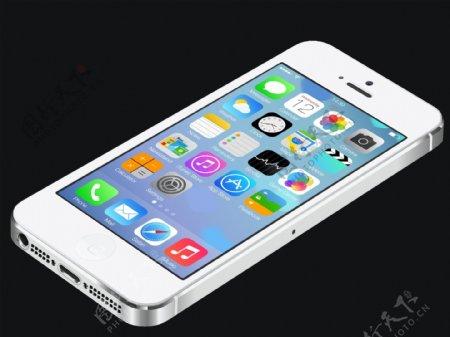 矢量iphone5图片