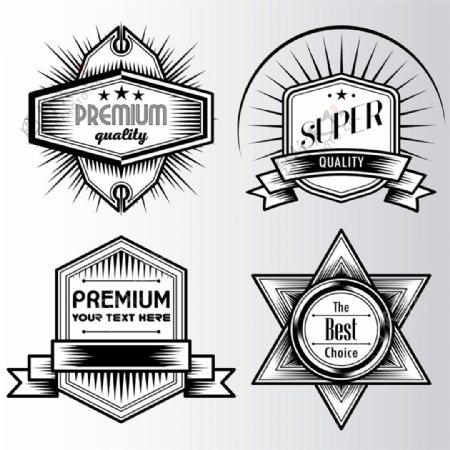 质量保证标签设计图片