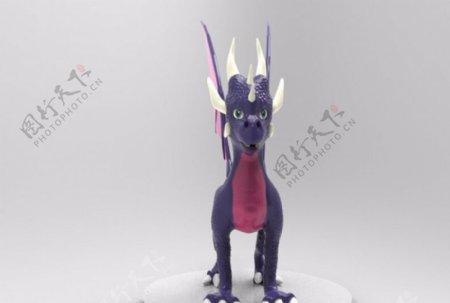 龙3D打印模型