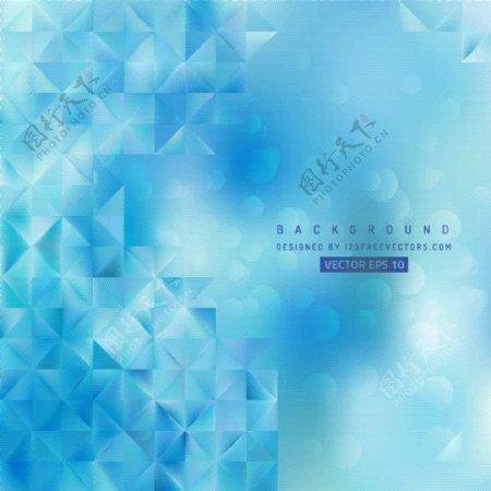 抽象蓝色背景模板