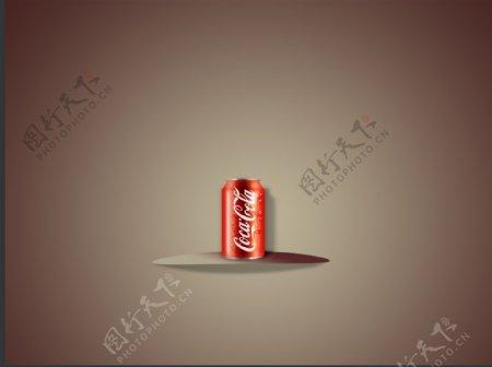 UI元素可乐写实图标设计