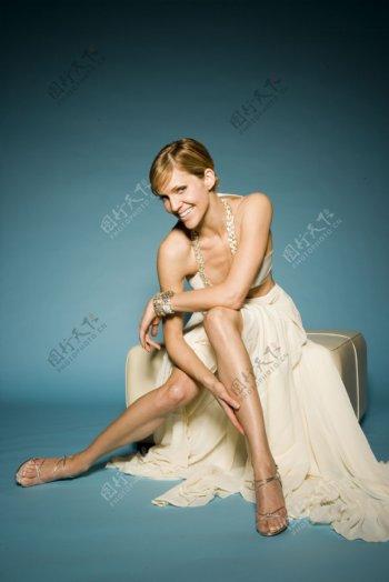 外国美女明星写真图片