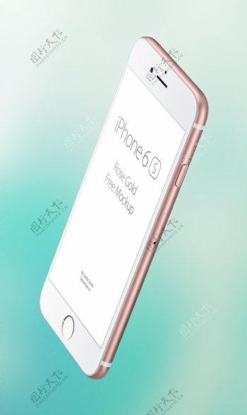 iPhone6s玫瑰金模板