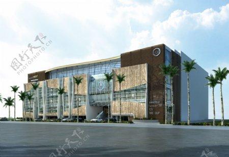 购物商场环境设计图片