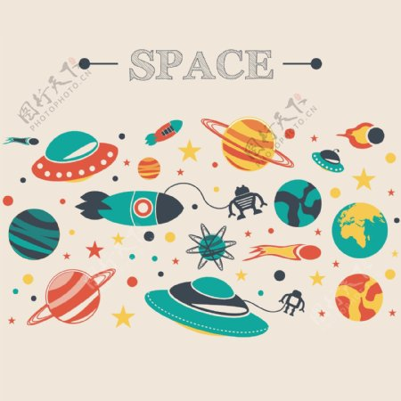 宇宙飞船图片