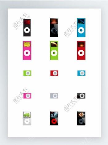 iPod家族图标集