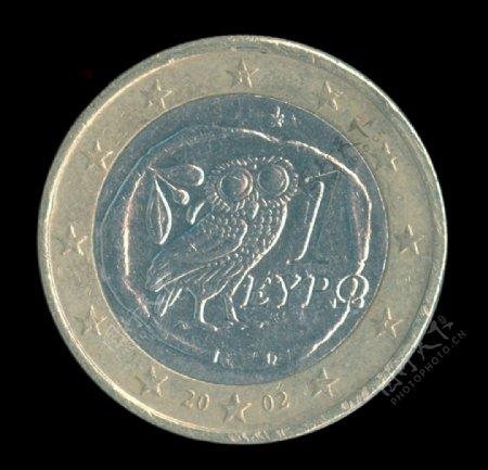 希腊1欧元2002