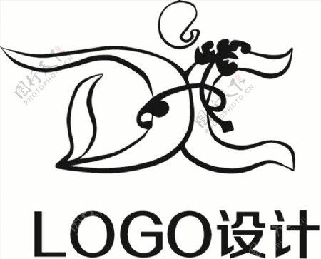 AI格式LOGO设计字母
