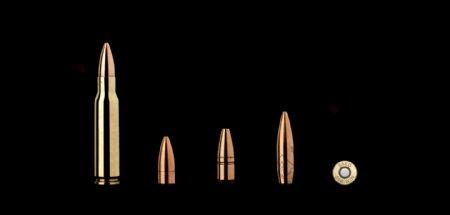 各种型号子弹免抠png透明图层素材