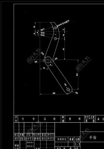 机械设计CAD机械图纸