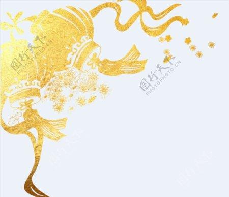 金色灯笼元素