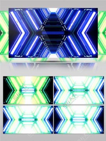蓝色箭头光束视频素材